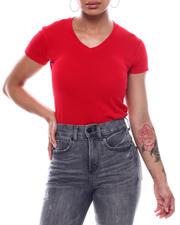 Fashion Lab - S/S V-Neck T-Shirt-2492085