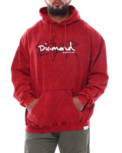 Diamond Supply Co - Slayer Pullover Hoodie (B&T)
