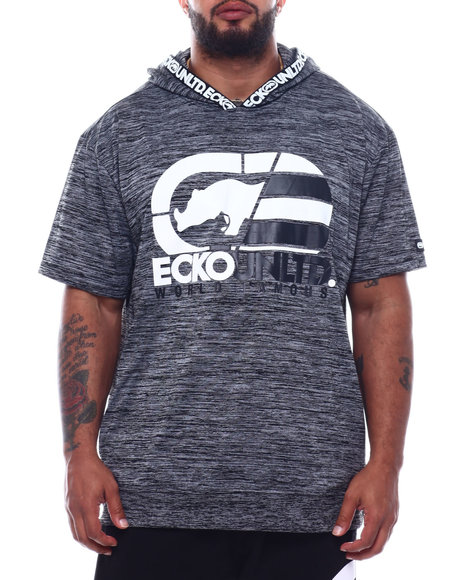Ecko - Rhino Reflections S/S Hooded Knit (B&T)