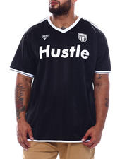 Brooklyn Cloth - Hustle Soccer Jersey Tee (B&T)-2493271