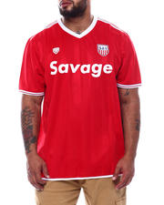 Brooklyn Cloth - Savage Soccer Jersey Tee (B&T)-2493275
