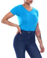 Fashion Lab - S/S V-Neck T-Shirt-2492090