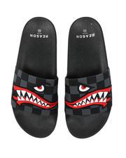 Footwear - Fighter Shark Slides-2493455