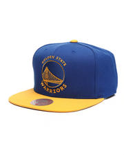 Mitchell & Ness - Golden State Warriors Wool 2 Tone Snapback Hat-2493811
