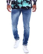 Buyers Picks - Faded Jean w Ankle Splatter Detail-2493897