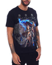 Industrial Indigo - Skull and Reaper Tee-2493777