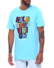 Men - HOLD THE VISION EMBROIDERED TEE-2494028