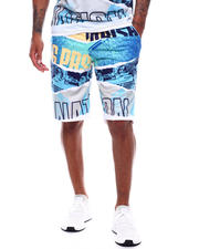 Parish - engineer print shorts-2494371