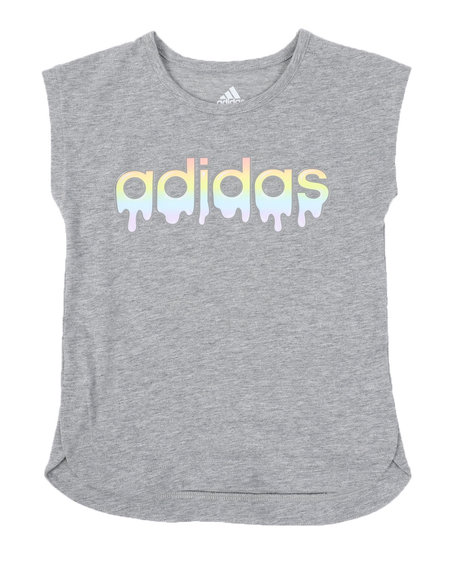 Adidas - Adidas Graphic Slit Tee (4-6X)