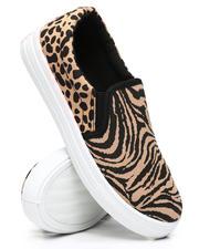 Qupid - Tiger Slip-On Sneakers-2494699