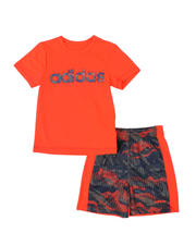Sizes 2T-4T - Toddler - 2 Pc Core Tee & Camo Shorts Set (2T-4T)-2494992