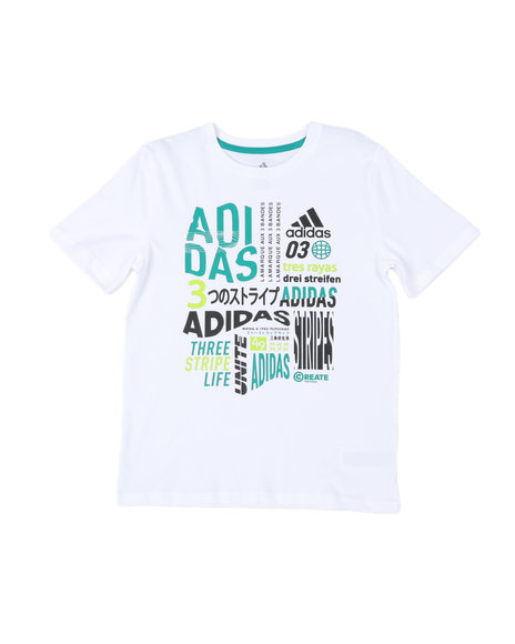 Adidas - On Repeat Tee (8-20)