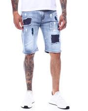 Shorts - Paint And Rhinestone Denim Short-2495350
