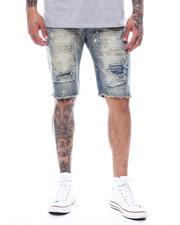 Shorts - Rip and Repair Antique Denim Short-2495449