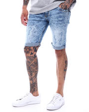 "Stylist Picks - Orlando Fit Light Blue Roll up 10.5 ""Denim Short-2495476"