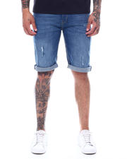 "Stylist Picks - Orlando Fit Medium Wash Roll up 10.5 ""Denim Short-2495488"