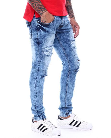 Copper Rivet - Zigzag Repair Slim fit Jean