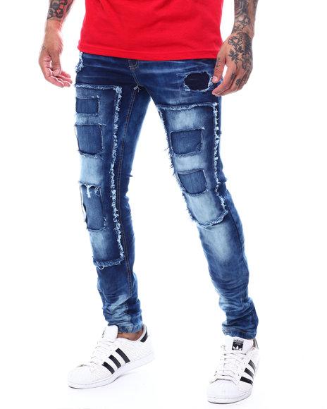 Copper Rivet - Ripped Panel Vintage Jean