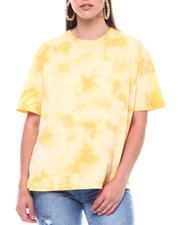 Fashion Lab - S/S Over-sized Tie Dye Tee-2495769