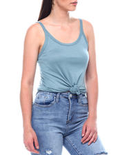 Tanks, Tubes & Camis - Solid Scoop Neck Tank Top-2495785
