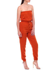 Womens-Holiday - Tube Top Jumpsuit W/Cargo Pkt-2495809