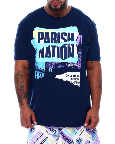 Parish - Engineer Print S/S Tee (B&T)