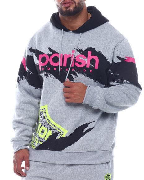 Parish - Fleece Pop Over Hoody (B&T)