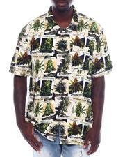 Shirts - GREEN THUMB S/S WOVEN TOP-2497623