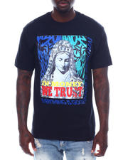 Men - In Money We Trust Velour Patch Tee-2497764