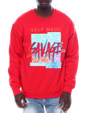 Men - Self made Savage Crewneck Sweatshirt-2497094