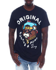 Men - Hustle and Play Teddy Tee-2497208