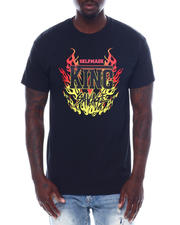 Men - Selfmade King Savage Flame Tee-2497218