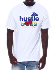 Men - Hustle Flower Tee-2497276