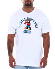 Men - Fight Bear Short Sleeve Tee (B&T)-2497085