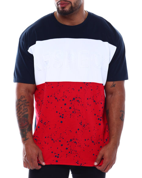 Buyers Picks - Respect Colorblock T-Shirt (B&T)