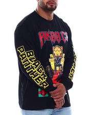 AKOO - Stacker Black Panther Long Sleeve Tee (B&T)-2497479