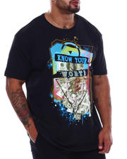 Men - Know Your Worth Money Tee (B&T)-2498031