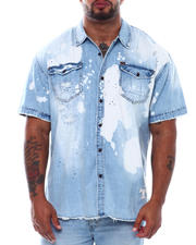 AKOO - Trap Short Sleeve Woven Shirt (B&T)-2497959