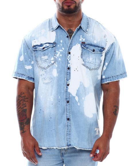AKOO - Trap Short Sleeve Woven Shirt (B&T)