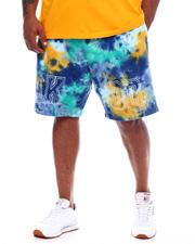 AKOO - Gotemba Tie Dye Shorts (B&T)-2497634