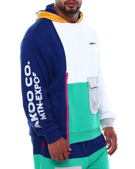 AKOO - Summit Colorblock Hoodie (B&T)