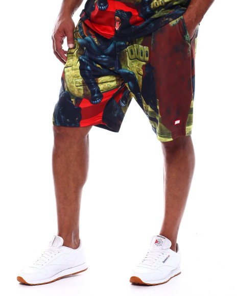 AKOO - King Black Panther Shorts (B&T)