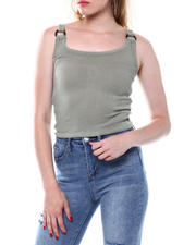Tanks, Tubes & Camis - Horn O-Ring Sweater Knit Tank-2498165