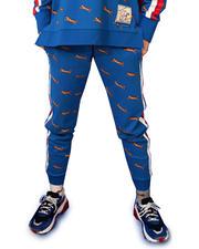 Le Tigre - Olivia All Over Print Jogger w/Stripe Side-2482909