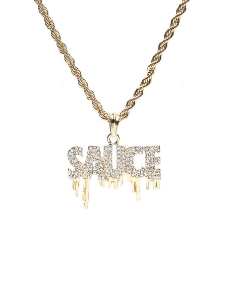 Buyers Picks - Dripping Sauce Chain Necklace