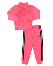 Adidas - 2 Pc Tricot Jacket & Pants Set (4-6X)-2496487