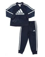Sets - 2 Pc Embossed Tricot Jacket & Pants Set (4-7)-2496744