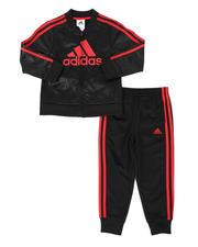 Sets - 2 Pc Embossed Tricot Jacket & Pants Set (4-7)-2496749