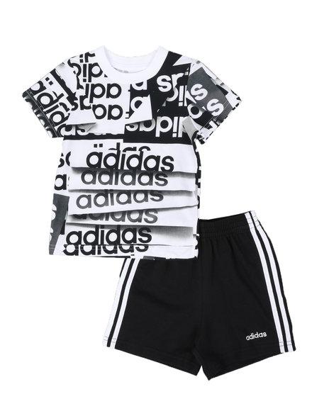 Adidas - 2 Pc Core Origami T-Shirt & Shorts Set (Infant)