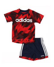Infant & Newborn - 2 Pc Sport T-Shirt & Shorts Set (3-24Mo)-2496716